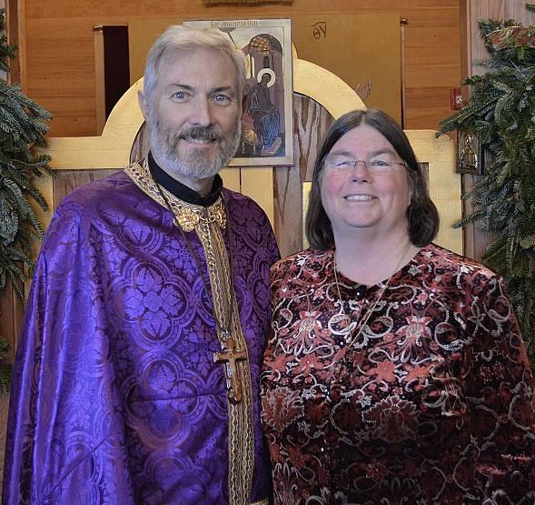Fr. John and Pani Cindy Zboyovski